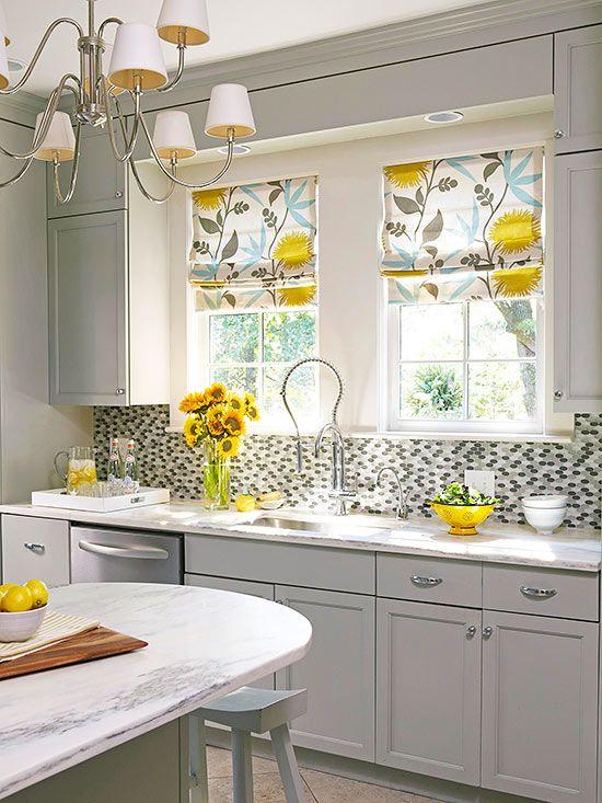 curtains for kitchen window ideas
