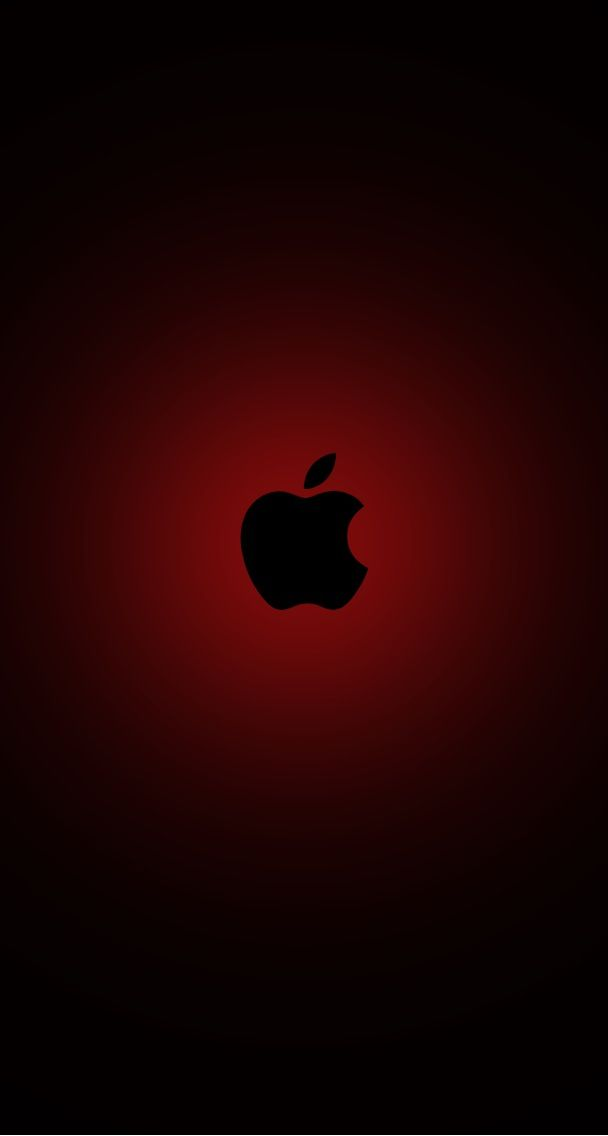 Red Apple Logo Wallpaper : apple, wallpaper, Black, Apple, Wallpaper