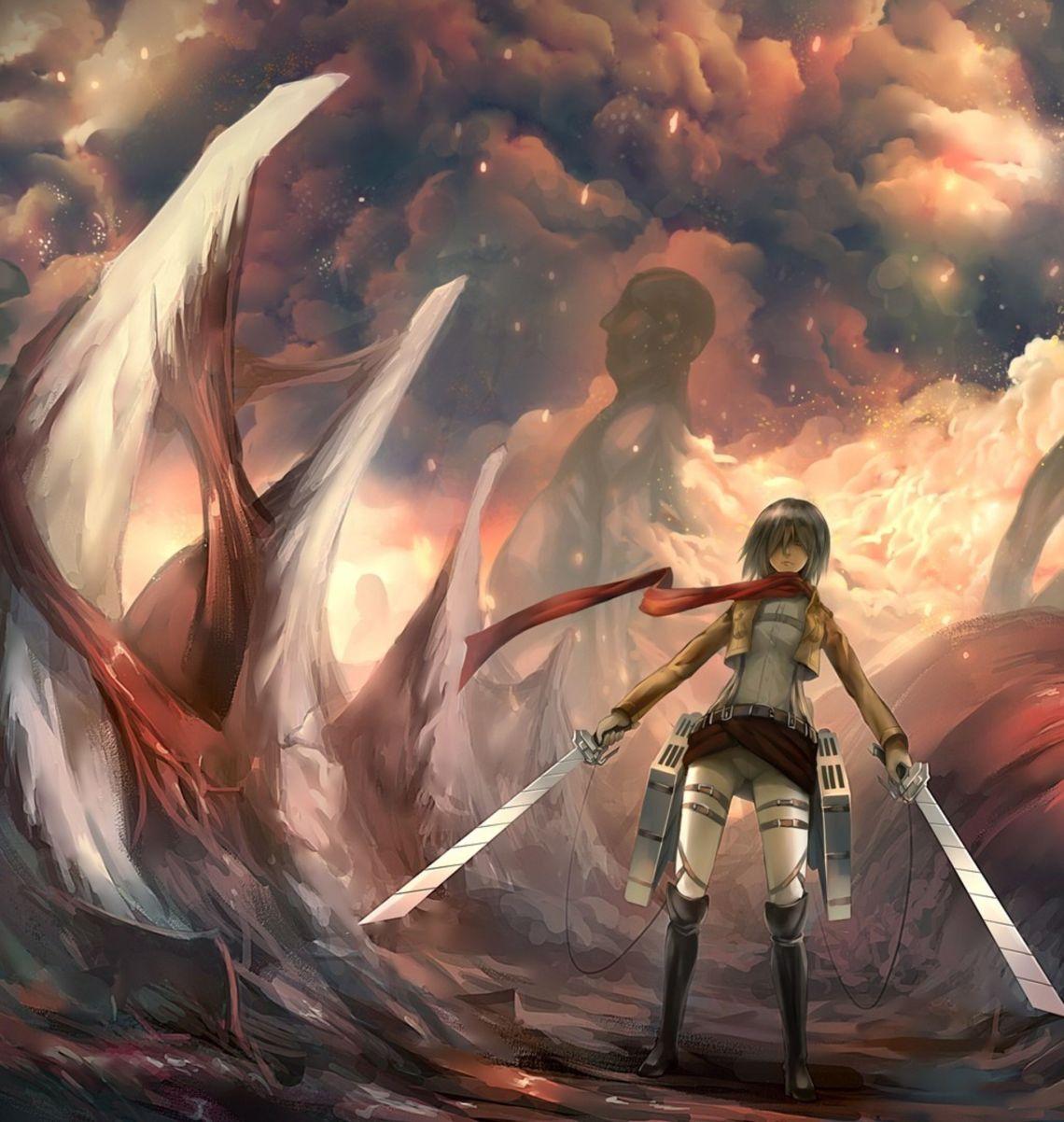 Anime Wallpaper 4k Attack On Titan