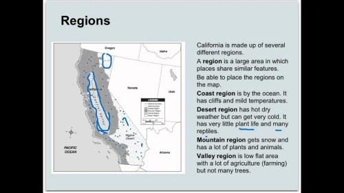 small resolution of California Regions 4th Grade