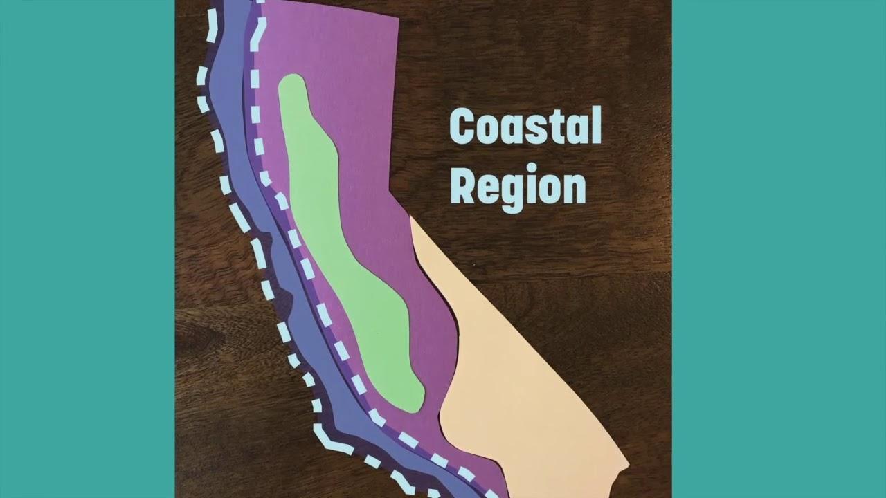hight resolution of California Regions 4th Grade