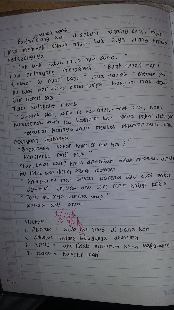 Cerita Anekdot Pendek Brainly
