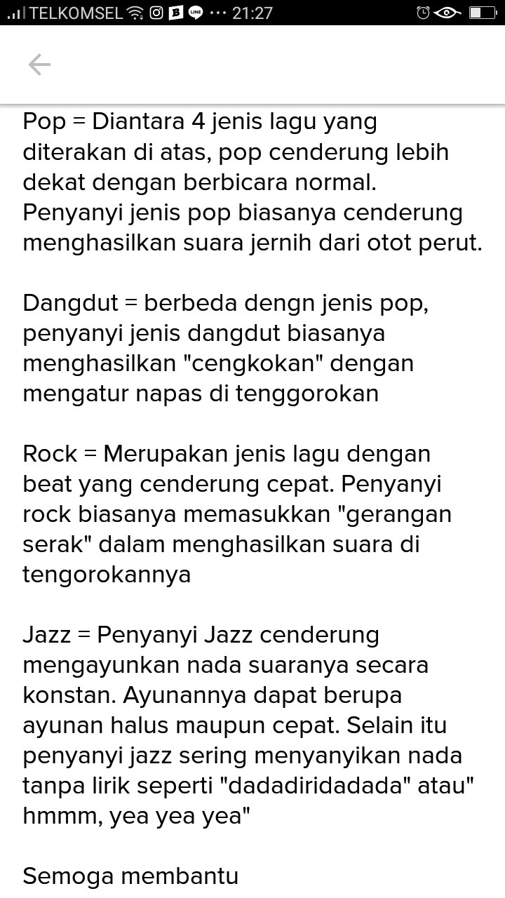 Ciri Ciri Lagu Rock : Pengertian, Musik, Dangdut