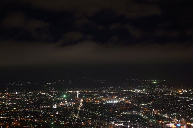 But, Hakodate night view seen better from outside the ropeway station :)