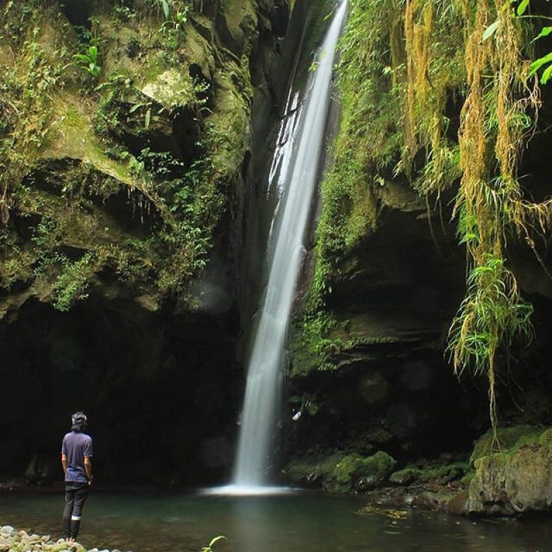 Bebet Bebasaq Waterfall, New Hidden Lombok Destination @oxsandri