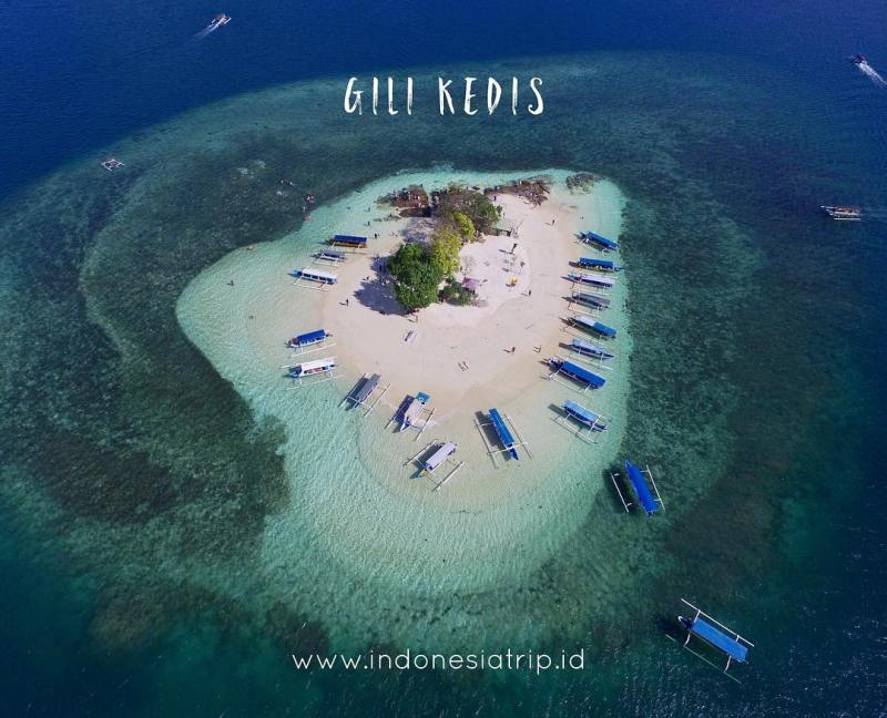 Visit Gili Kedis, Small But Beautiful Island Near Lombok