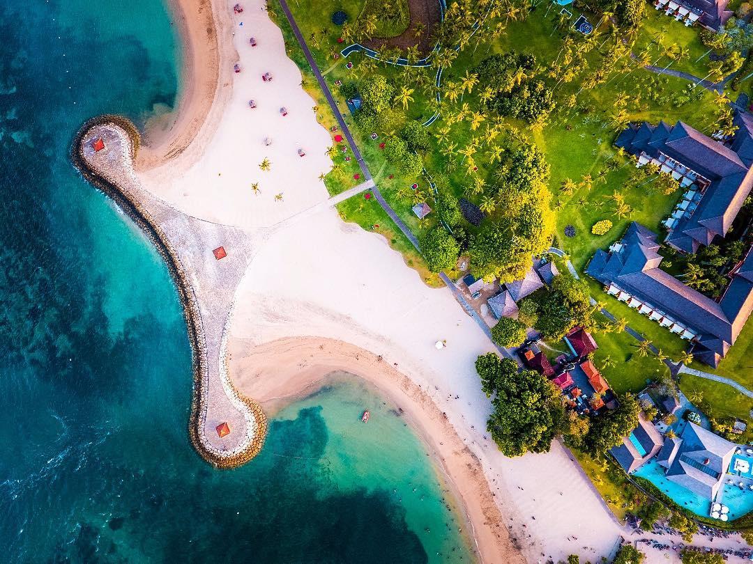 Samuh Beach Near Nusa Dua Beach Bali! via @dewa.ode_