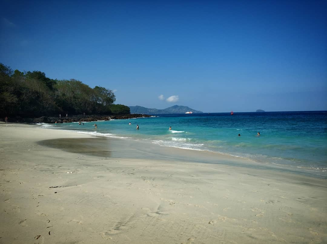 This beach is also known with other name such as Pantai Perasi, or Virgin Beach Karangasem.