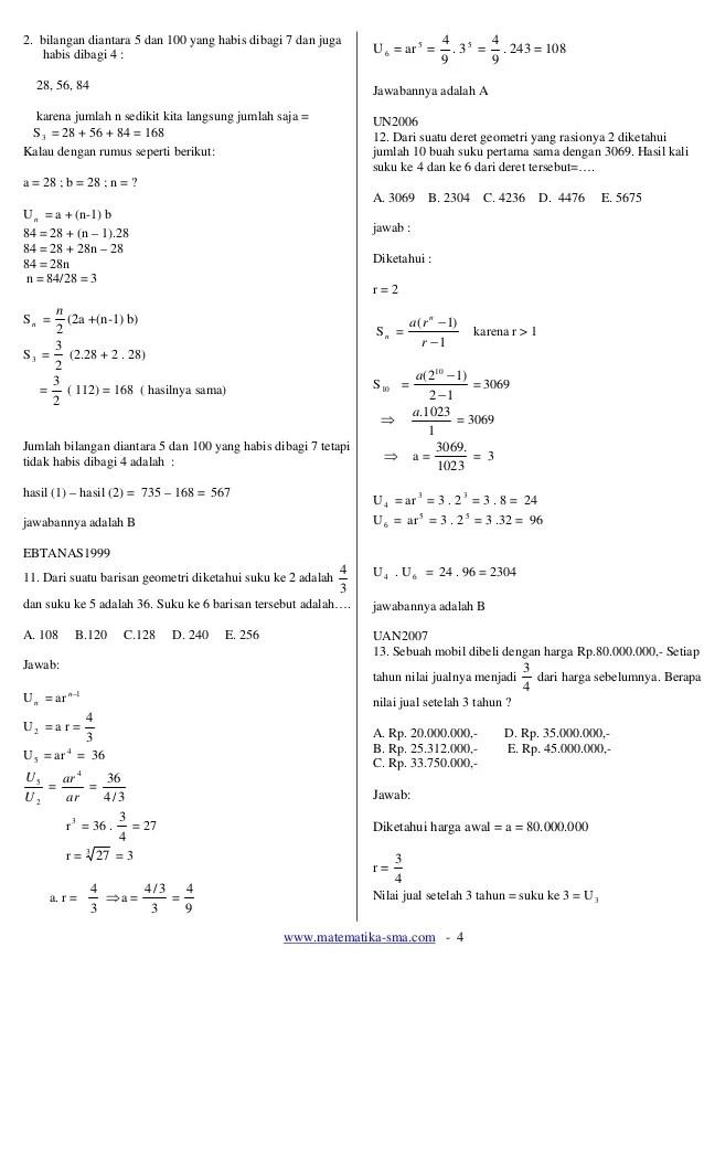 Contoh Soal Induksi Matematika Kelas 11 Beserta Jawabannya : contoh, induksi, matematika, kelas, beserta, jawabannya, Induksi, Matematika, Pembahasan
