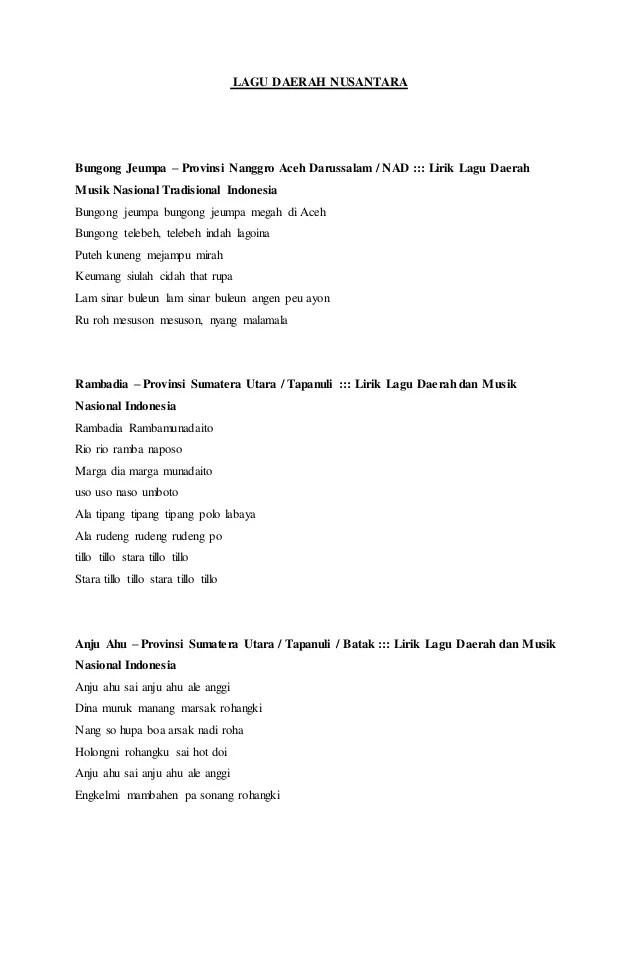 Download Lagu Bungong Jeumpa Tania : download, bungong, jeumpa, tania, Lirik, Daerah, Bungong, Jeumpa