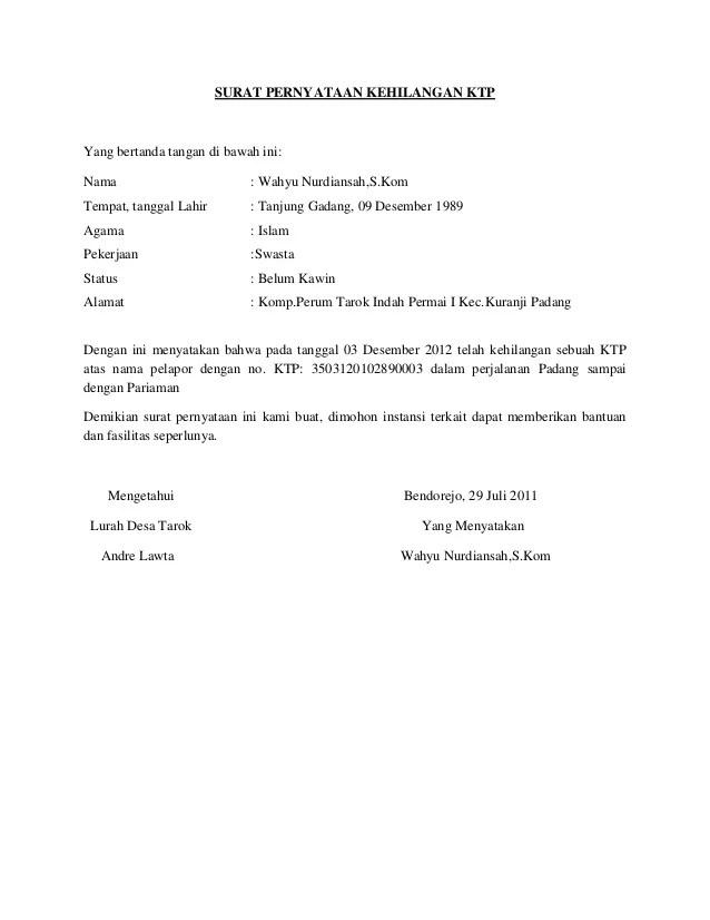 Contoh Surat Pernyataan Kehilangan Kwitansi : contoh, surat, pernyataan, kehilangan, kwitansi, Contoh, Surat, Keterangan, Kehilangan, Berkas, Kumpulan