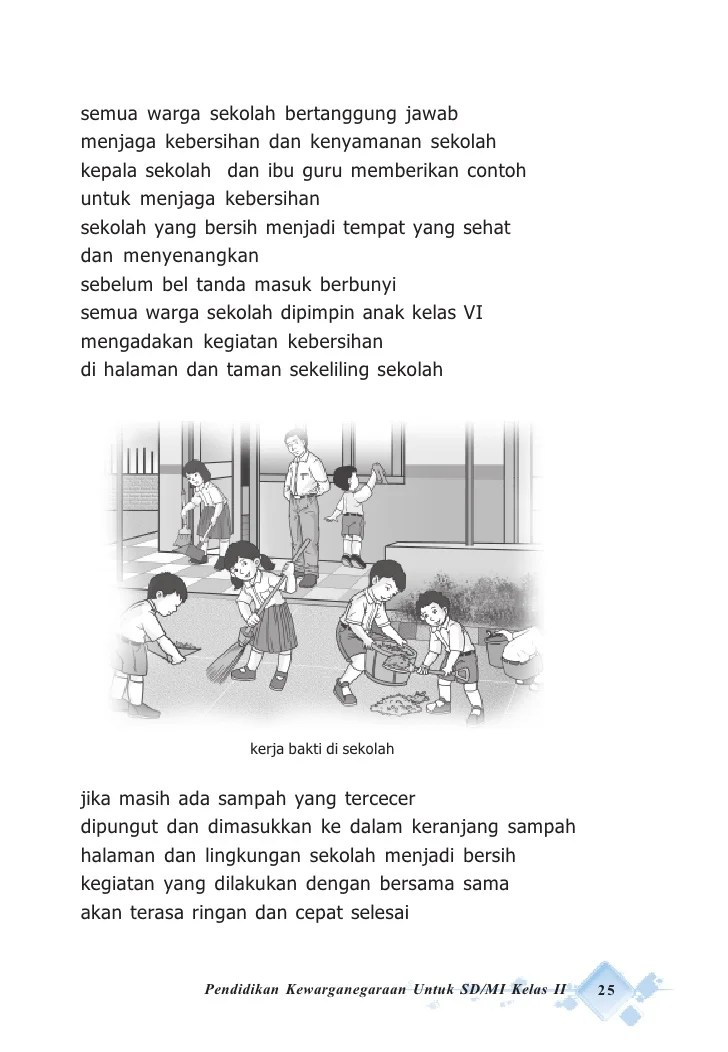 Gambar Gotong Royong Di Sekolah Kartun : gambar, gotong, royong, sekolah, kartun, Gambar, Gotong, Royong, Sekolah