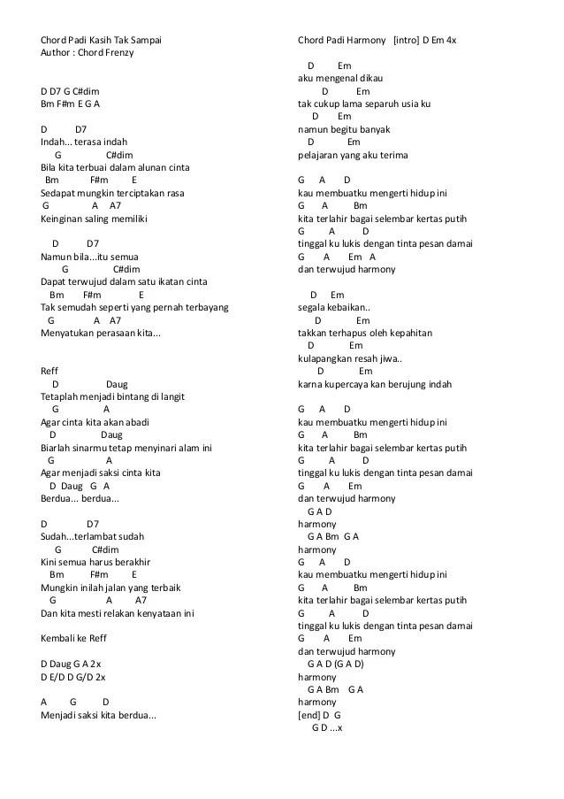 Chord Salju Kasih : chord, salju, kasih, Salju, Kasih, Chord