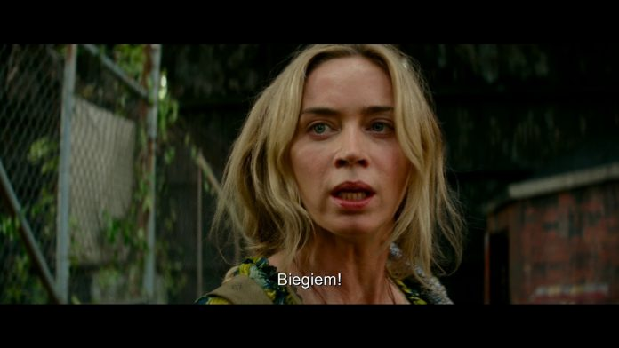 Emily Blunt needs to be quiet again