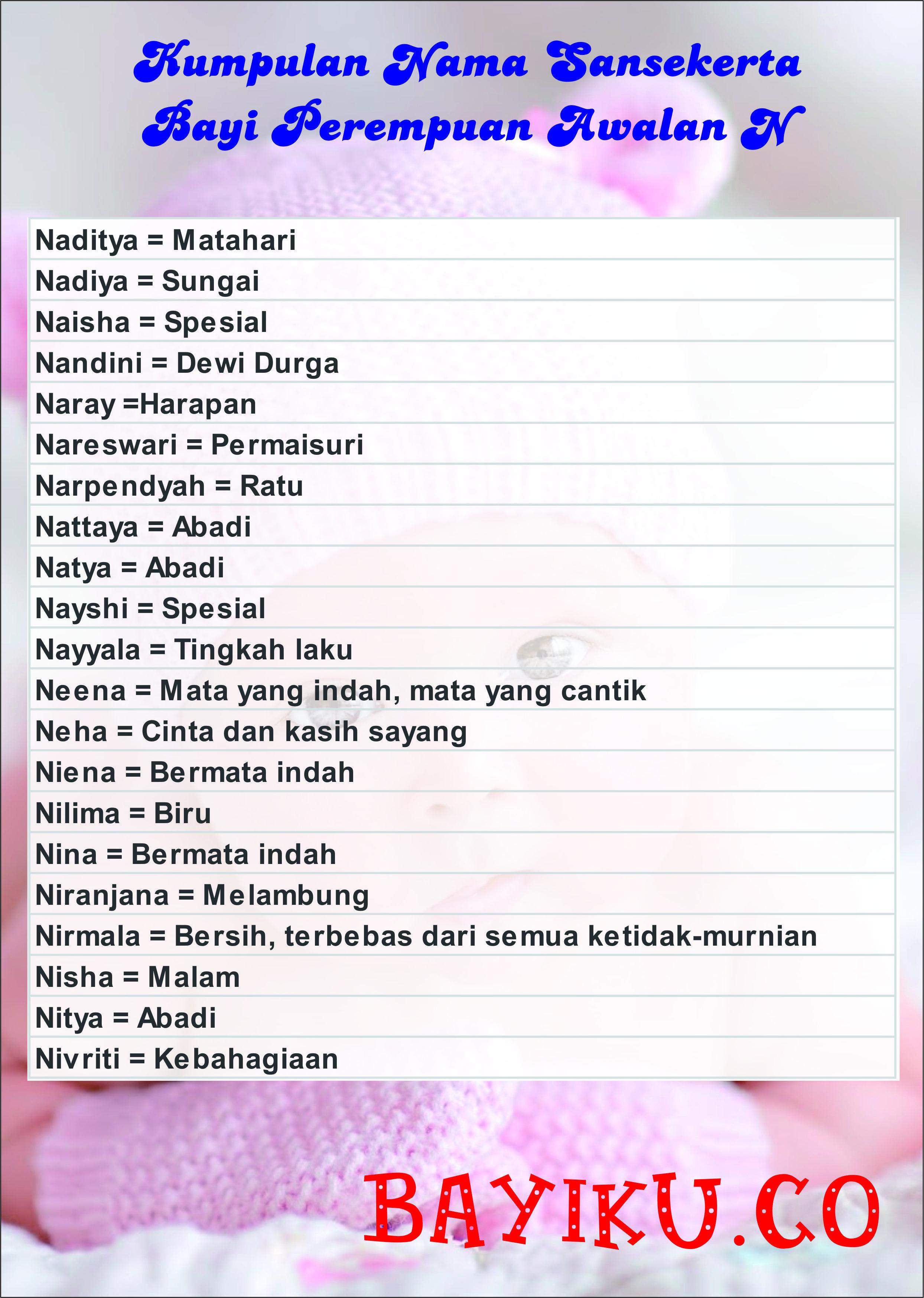 Rangkaian Nama Bayi Perempuan Islami Awalan Huruf S : rangkaian, perempuan, islami, awalan, huruf, Rangkaian, Perempuan, Islami, Cantik