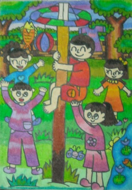Animasi Lomba Balap Karung : animasi, lomba, balap, karung, Gambar, Lomba, Kemerdekaan, Kartun