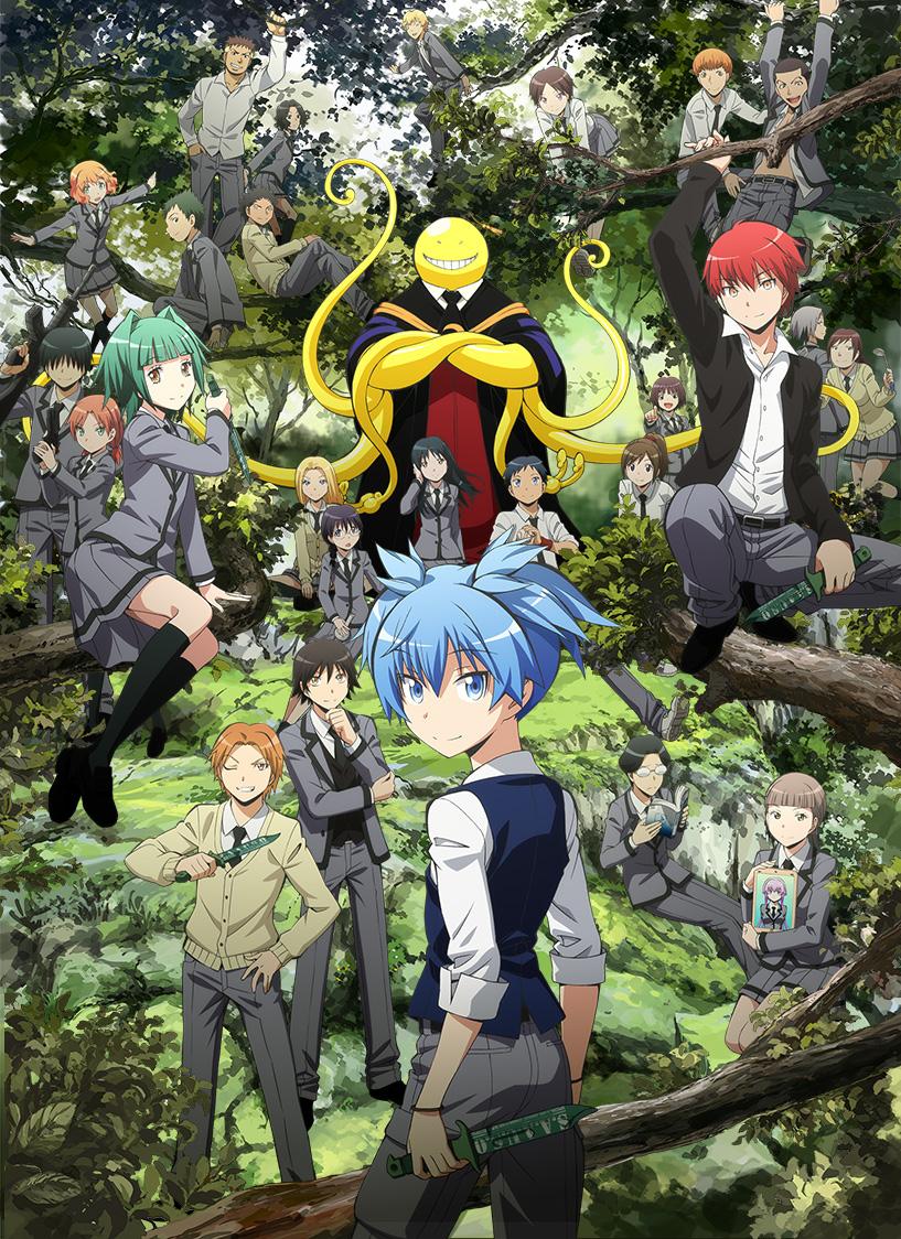 Assassination Classroom S2 Sub Indo : assassination, classroom, Anime, Batch, Assassination, Classroom