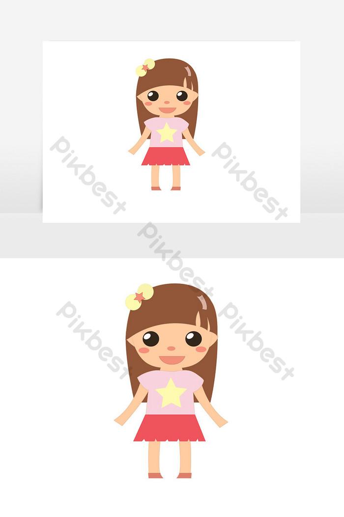 Animasi Anak Perempuan : animasi, perempuan, Gambar, Perempuan, Kartun
