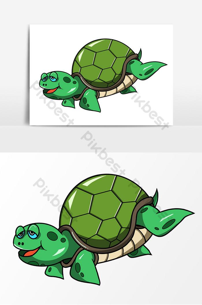 Gambar Kura Kura Animasi : gambar, animasi, Gambar, Penyu, Kartun