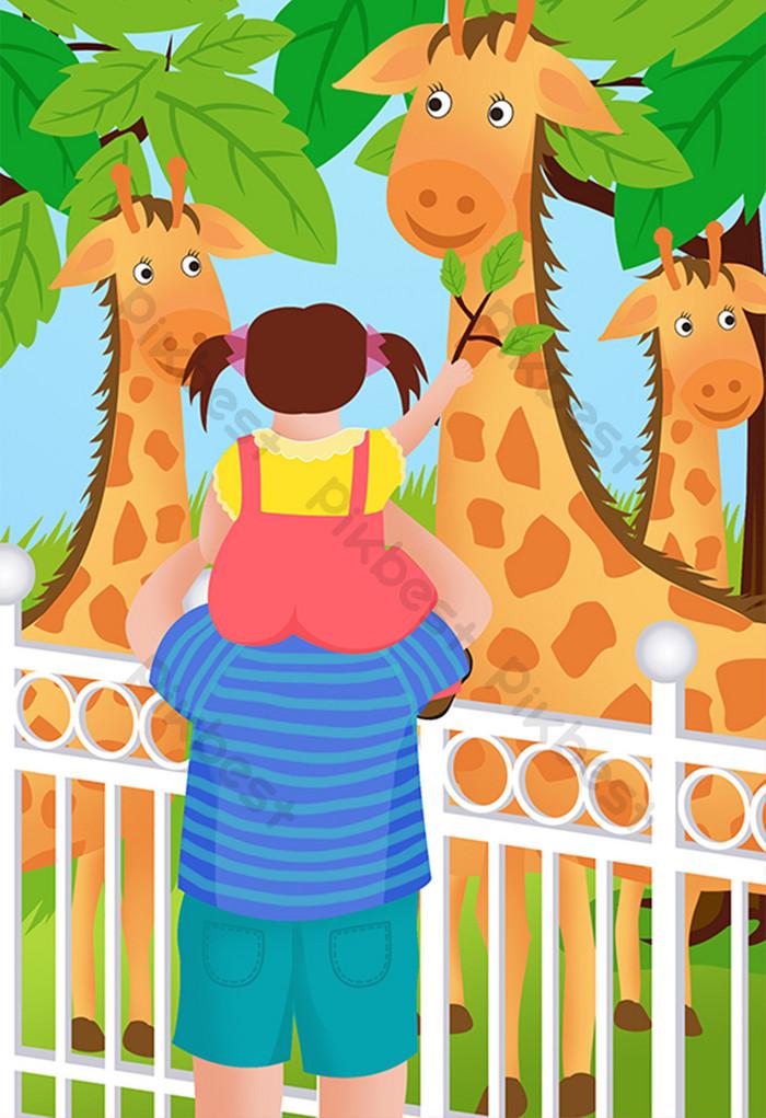 Gambar Gajah Di Kebun Binatang Kartun