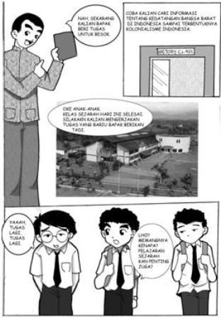 Komik Pendek Pendidikan : komik, pendek, pendidikan, Komik, Cerita, Bergambar, Tentang, Pendidikan