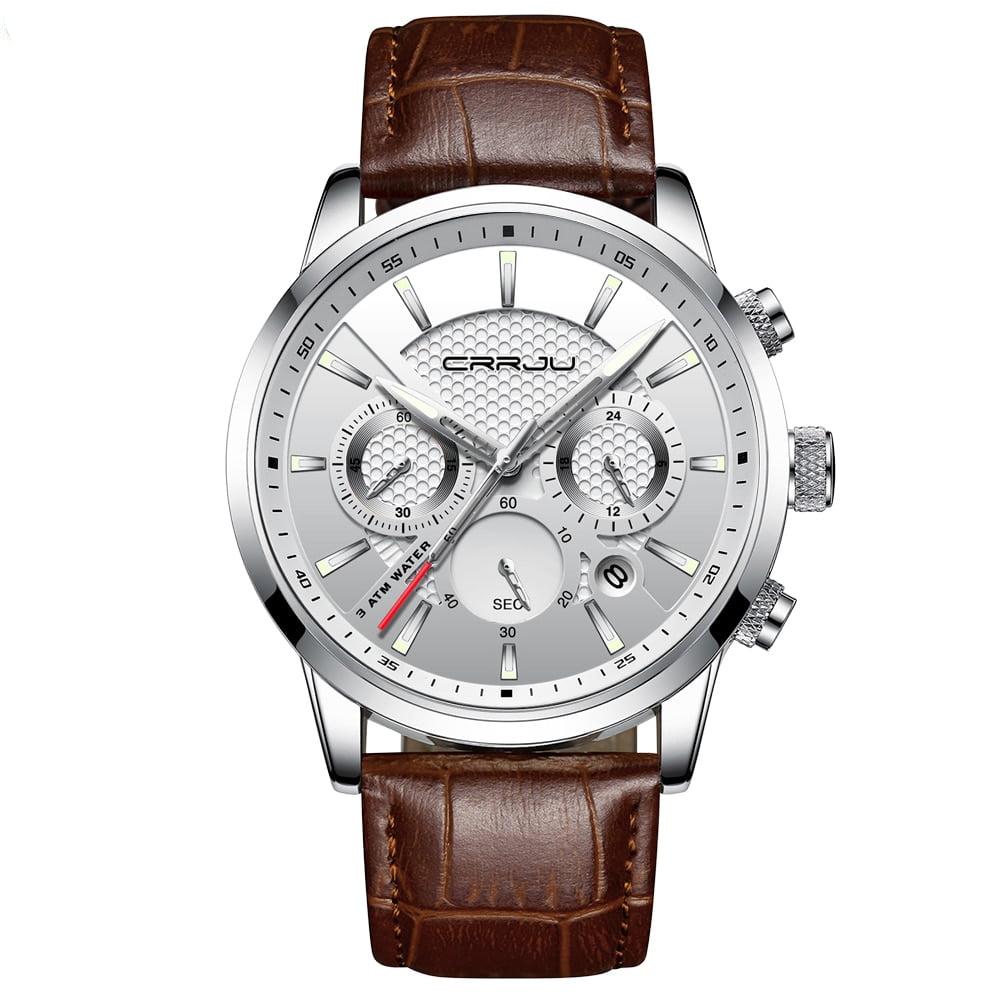 Men's Stainless Steel Luxury Watch