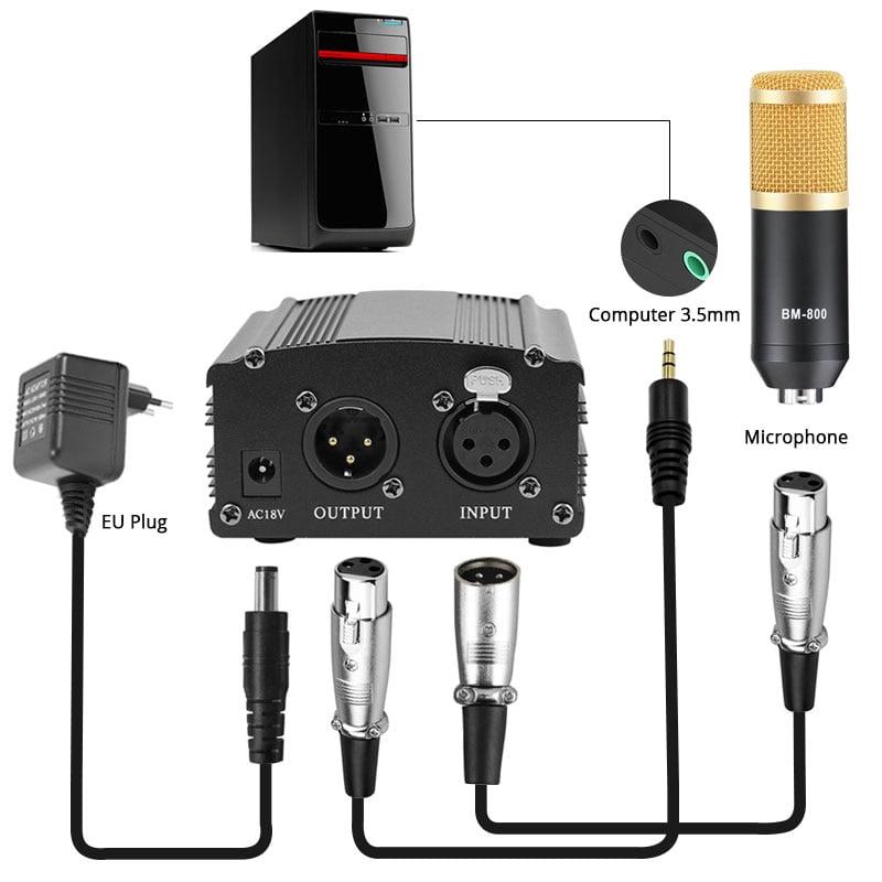 Professional Condenser Microphone for Studio Recording