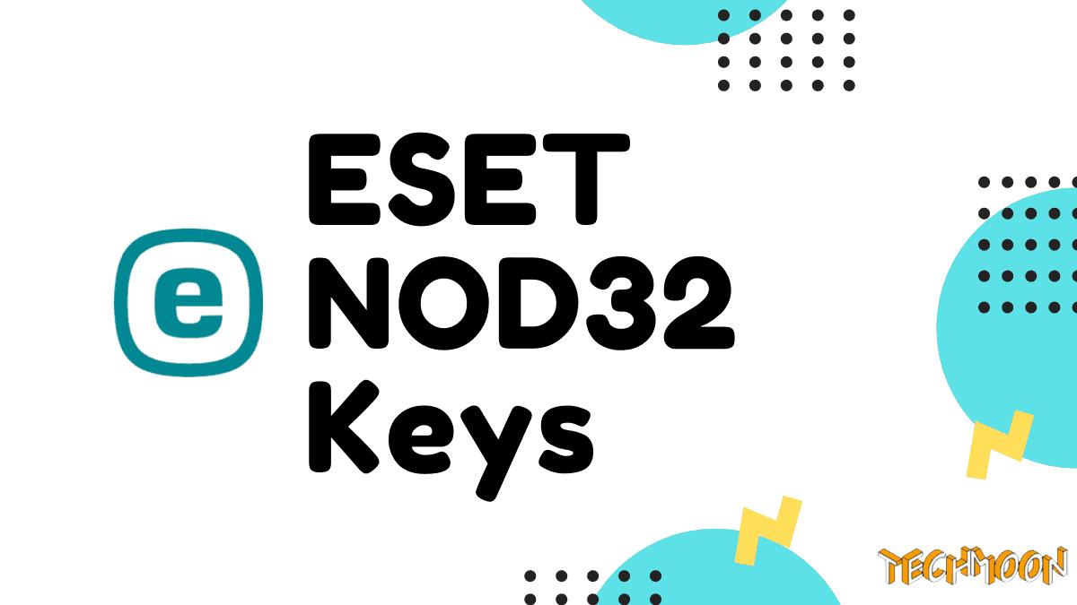 ESET NOD32 Keys 最新免費有效序號【2020 Update】 - TechMoon 科技月球|Zi 字媒體