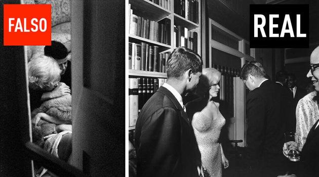 ¿JFK y la Monroe infraganti?