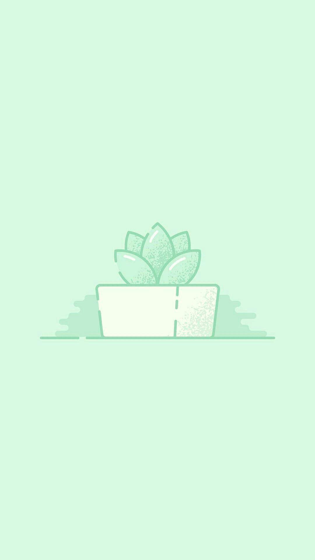 Light Green Aesthetic : light, green, aesthetic, Aesthetic, Light, Green, Iphone, Wallpaper