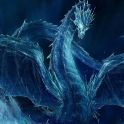 Mystical Galaxy Dragon Wallpaper