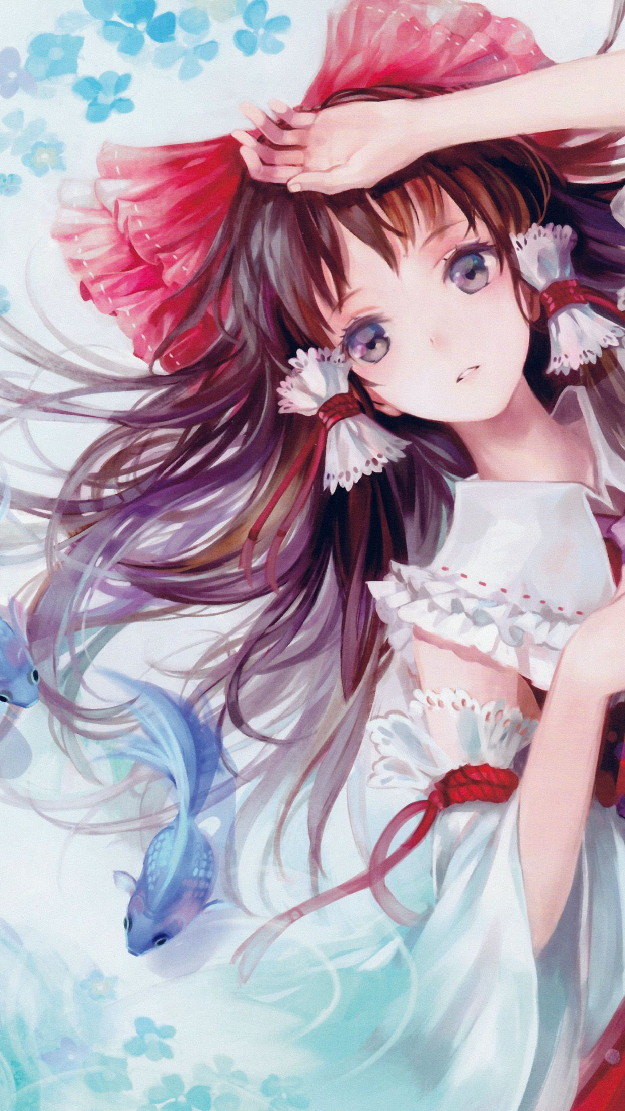 Cute Anime Girl Wallpaper Iphone : anime, wallpaper, iphone, Iphone, Pretty, Anime, Wallpaper