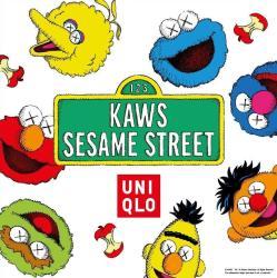 Iphone 7 Sesame Street Kaws Wallpaper