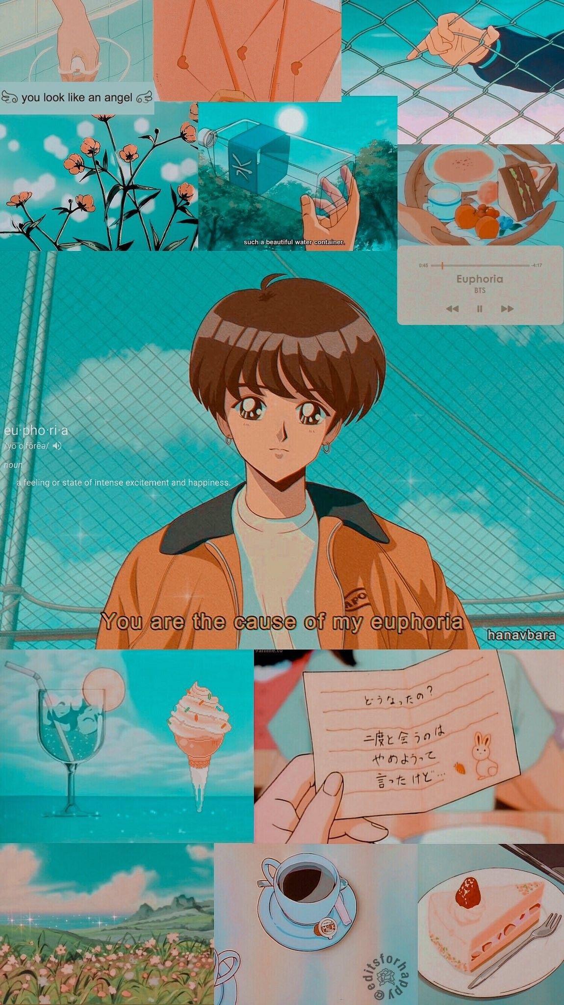 Retro 90s Anime Aesthetic : retro, anime, aesthetic, Aesthetic, Wallpapers, Retro, Anime, Wallpaper