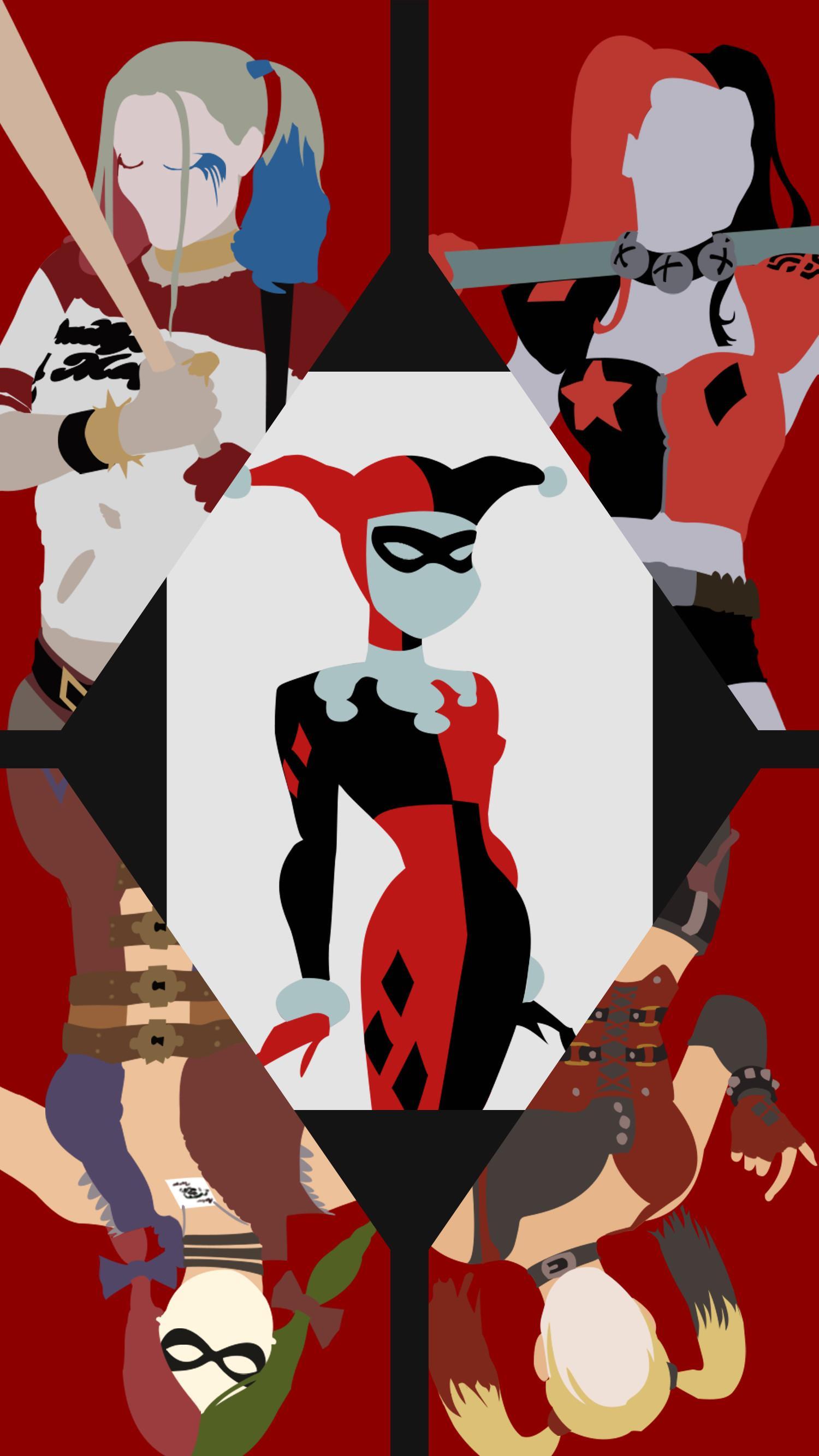 Harley Quinn Wallpaper Cartoon : harley, quinn, wallpaper, cartoon, Harley, Quinn, Cartoon, Wallpaper