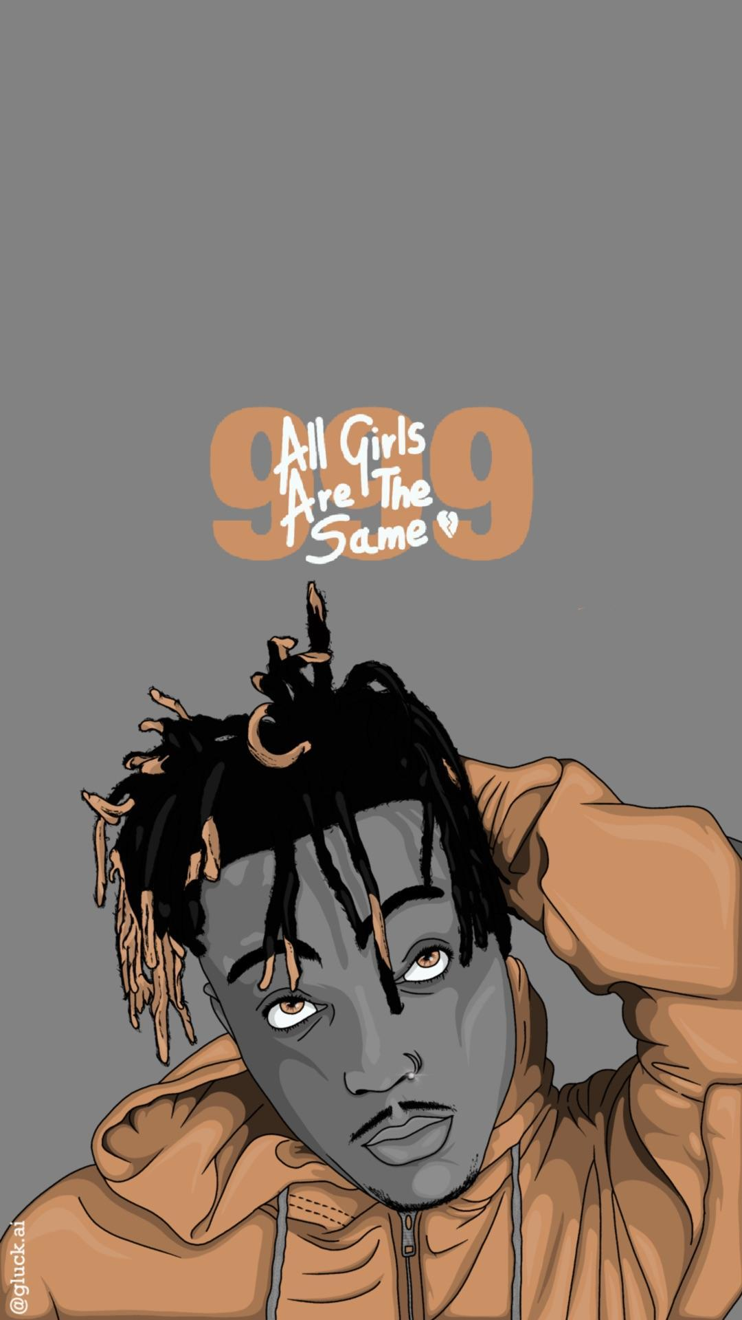 Juice Wrld Animated Pictures : juice, animated, pictures, Juice, Cartoon, Wallpaper, Phone
