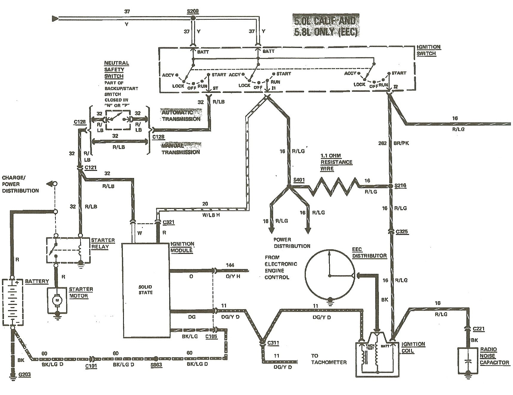 Wiring Diagram Of Ignition System