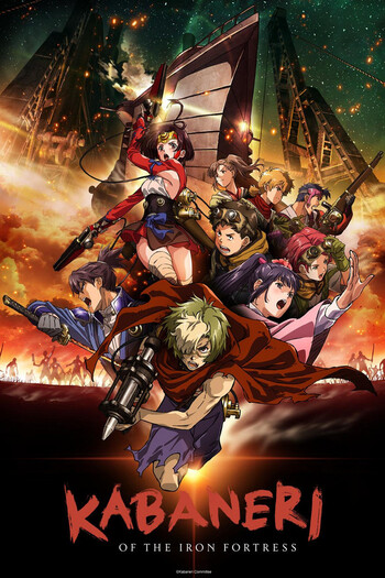 Koutetsujou no Kabaneri BD Batch (1 - 12) + Movie SUB INDO