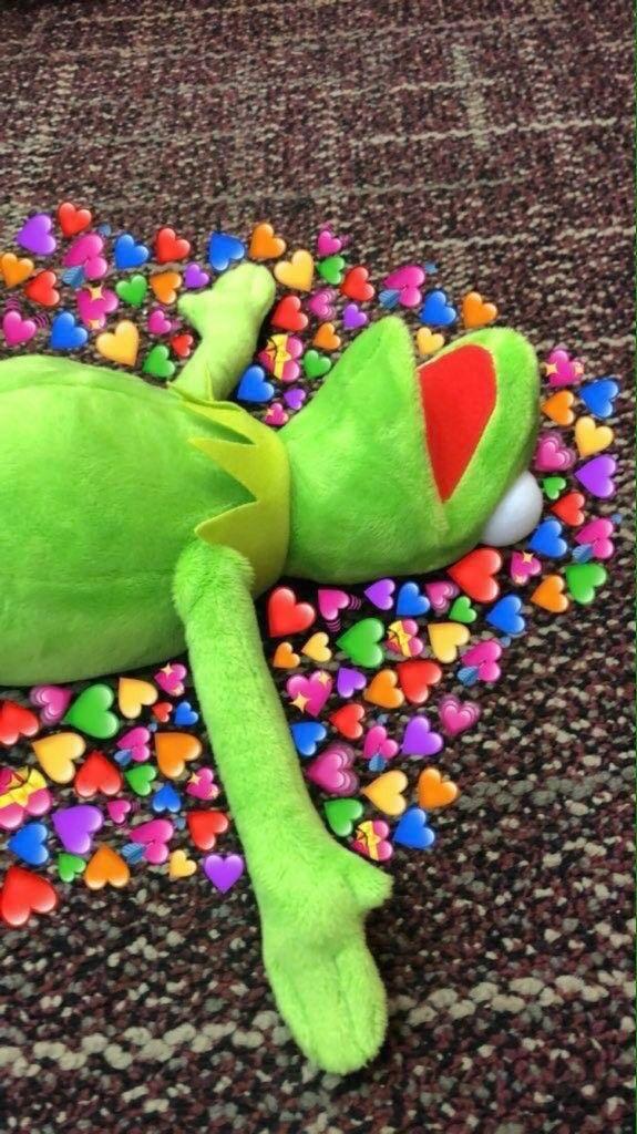 Kermit The Frog Hearts Wallpaper : kermit, hearts, wallpaper, Kermit, Heart, Wallpaper
