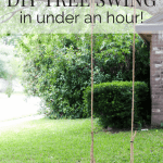 How To Make A Diy Tree Swing Love Renovations
