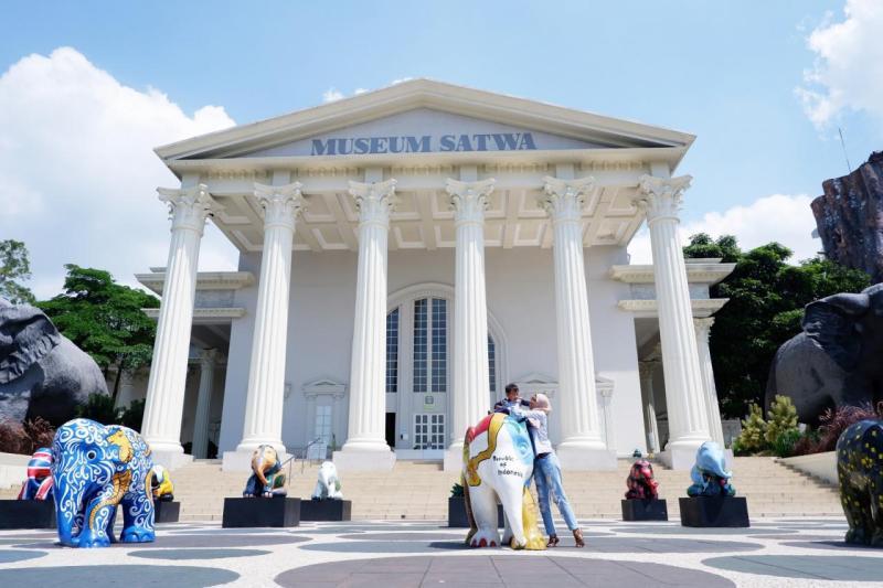 Terpesona di Museum Satwa Jatim Park 2