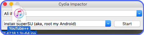 YouTube++ IPA on Cydia Impactor