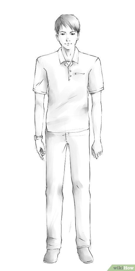3 Cara untuk Menggambar Orang - wikiHow