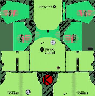 san-lorenzo-nike-kits-2019-2020-dream-league-soccer-%2528goalkeeper-home%2529