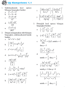 Contoh Soal Eksponen Kelas 10 Dan Pembahasannya : contoh, eksponen, kelas, pembahasannya, Contoh, Pembahasan, Eksponen, Kelas, Jawaban, Dikdasmen