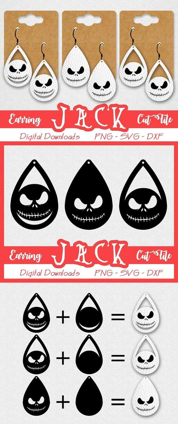 You will receive you will receive 1 zip file including: Download Nightmare Before Christmas Svg Jack Free Cut Files Include Svg Dxf Eps And Png Files