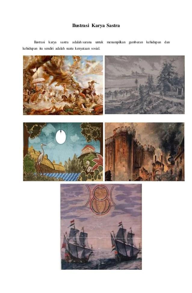 Contoh Gambar Ilustrasi Karya Sastra : contoh, gambar, ilustrasi, karya, sastra, Contoh, Gambar, Ilustrasi, Karya, Sastra, Lengkap, Kumpulan, Wallpaper