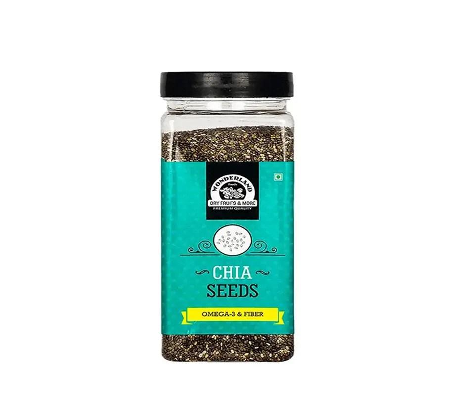 Wonderland Roasted Chia Seeds 200g