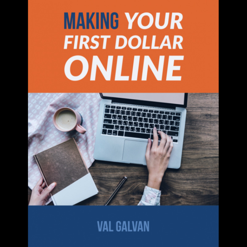 making your first money online