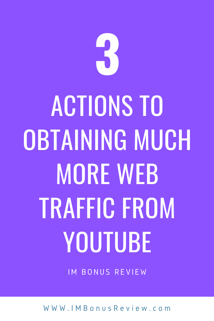 Web Traffic From YouTube
